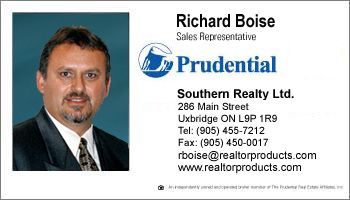 Business card styles for prudential real estate agents reheart Choice Image