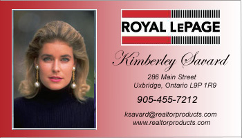 Le Page Template | Business Card Style Royal Lepage Template 1009