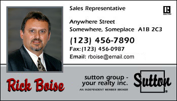 Business card styles for sutton group real estate agents sutton group 1004 sutton group 1004 reheart Image collections